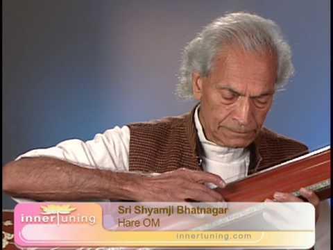 Hare oum Shyamji chant with tambura
