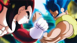 The LR SSJ4 Vegeta VS Gogeta Blue Dokkan Race! Nano VS Rhyme! Dragon Ball Z Dokkan Battle