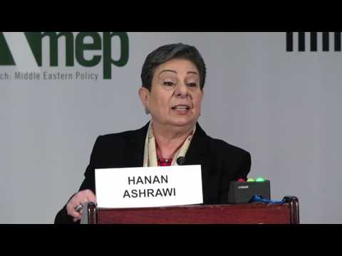Hanan Ashrawi - Palestinian Perspective on the Peace Process