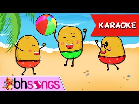 One Potato, Two Potatoes karaoke with lyrics | Nursery Rhymes TV | Ultra HD 4K Music Video