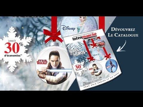 Catalogue Jouets Intermarche Noel 2017 Intermarche Hyper Youtube