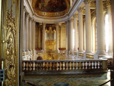 Michel Chapuis inaugure l'orgue de Versailles en 1995