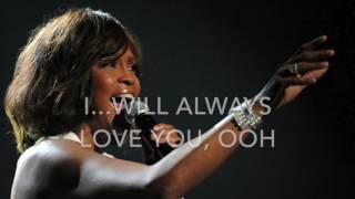 I will always love you - whitney houston karaoke male version lower (-6) lyrics instrumentalbase 6 semitoni sotto l'originale versione maschile bassaother ...