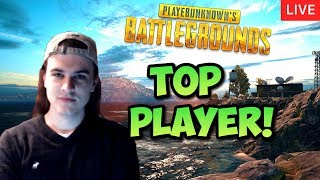 TOP PUBG PLAYER LIVE! - New MAP and UPDATE - Tryhard SOLO Gameplay