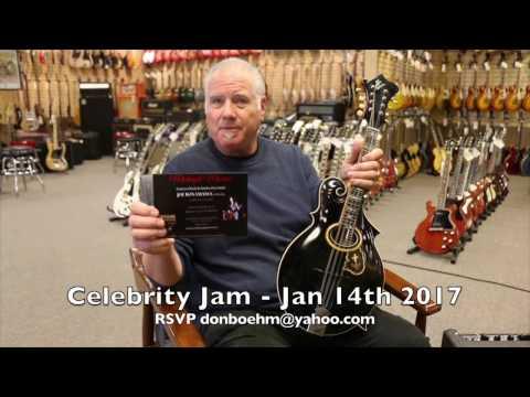 Joe Bonamassa host a Celebrity Jam for the Midnight Mission January 14th