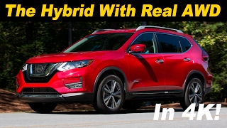 2017 Nissan Rogue Hybrid Review and Road Test - DETAILED in 4K UHD