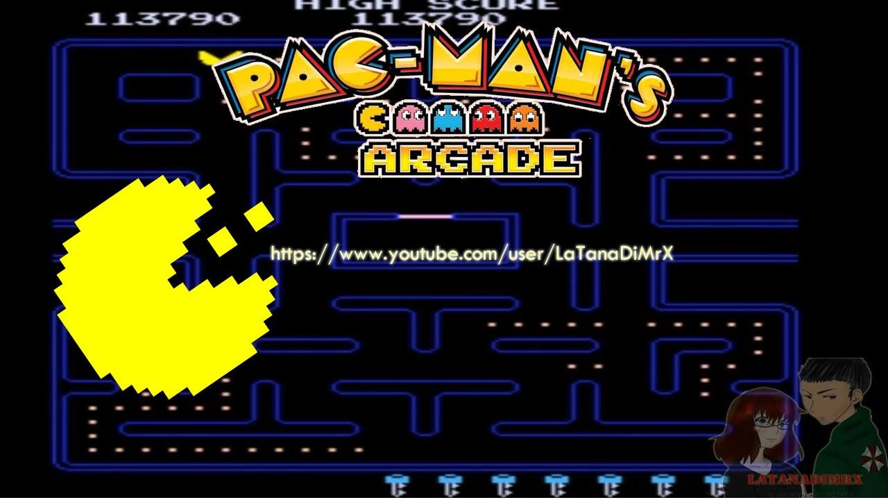 Arcade Game Wallpaper Group With 57 Items: Pac-Man (パックマン) Arcade 1980 [ HD ]
