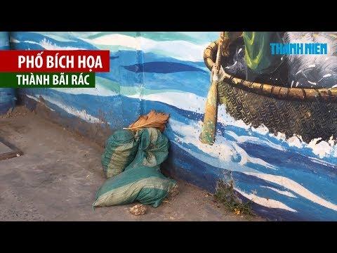 Phố bích hoạ giữa lòng Đà Nẵng bị lãng quên, biến thành nơi chứa phế thải