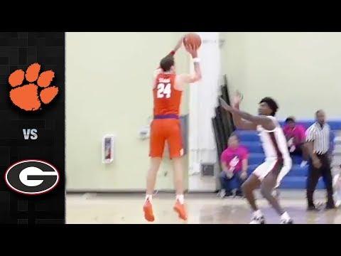 Clemson vs. Georgia Basketball Highlights (2018-19)