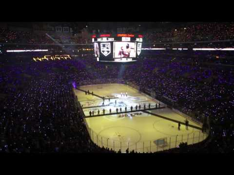LA KINGS Home Opener Intro and UCT/Rypplzz Light Show