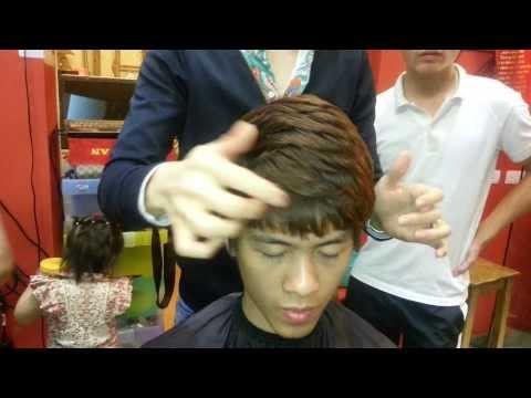 DẠY NGHỀ TÓC KORIGAMI 0915804875: kiểu tóc nam uốn xoăn Hàn Quốc cực chất cho teen boy
