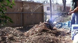 2013 Pre-spring Cleanup: Compost Tilling, Bed Weeding, Taking Down The Trellis' & New Garden Plans