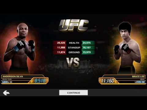 Bruce Lee Vs Anderson Silva UFC EA SPORTS ANDROID (Bruce Lee Event)