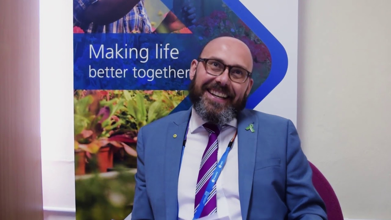 Chris Barton, Associate Director of HR on Mental Health Awareness Week 2018