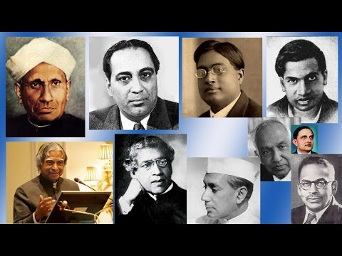 World Greatest Indian Scientists  We Salute Them