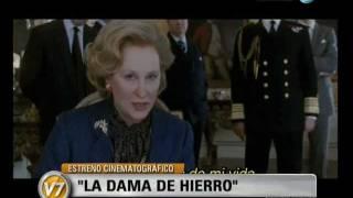 """Visión Siete: Cine: Estrena """"La dama de hierro"""""""