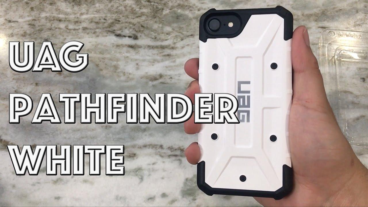 los angeles 32416 ac431 iPhone 7 Urban Armor Gear UAG Pathfinder White Case
