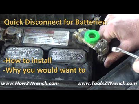 Spurtar Top Post Battery Master Disconnect Switch Battery Terminal Quick Disconnect Switch for Car Truck Motor