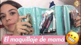 ME MAQUILLO CON LOS MAQUILLAJES DE MI MAMÁ- Maius