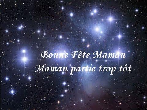 Bonne Fete Maman Partie Trop Tot Poeme Youtube