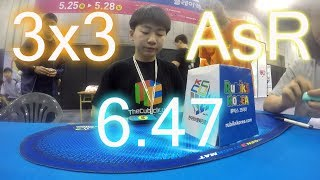 3rd in the world. Thank you Cubicle and Mofangge for supporting me....