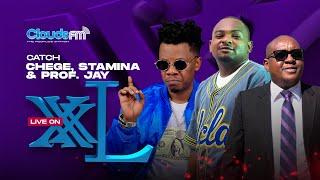 LIVE: Stamina & Professor Jay wameileta 'BABA' kwenye XXL ya Couds FM