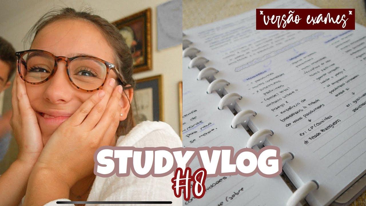 STUDY VLOG #8: COMO ARRASAR NOS EXAMES