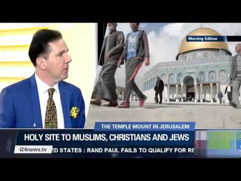 Mr.Adnan Oktar's representatives' interview with the i24news national TV channel of Israel