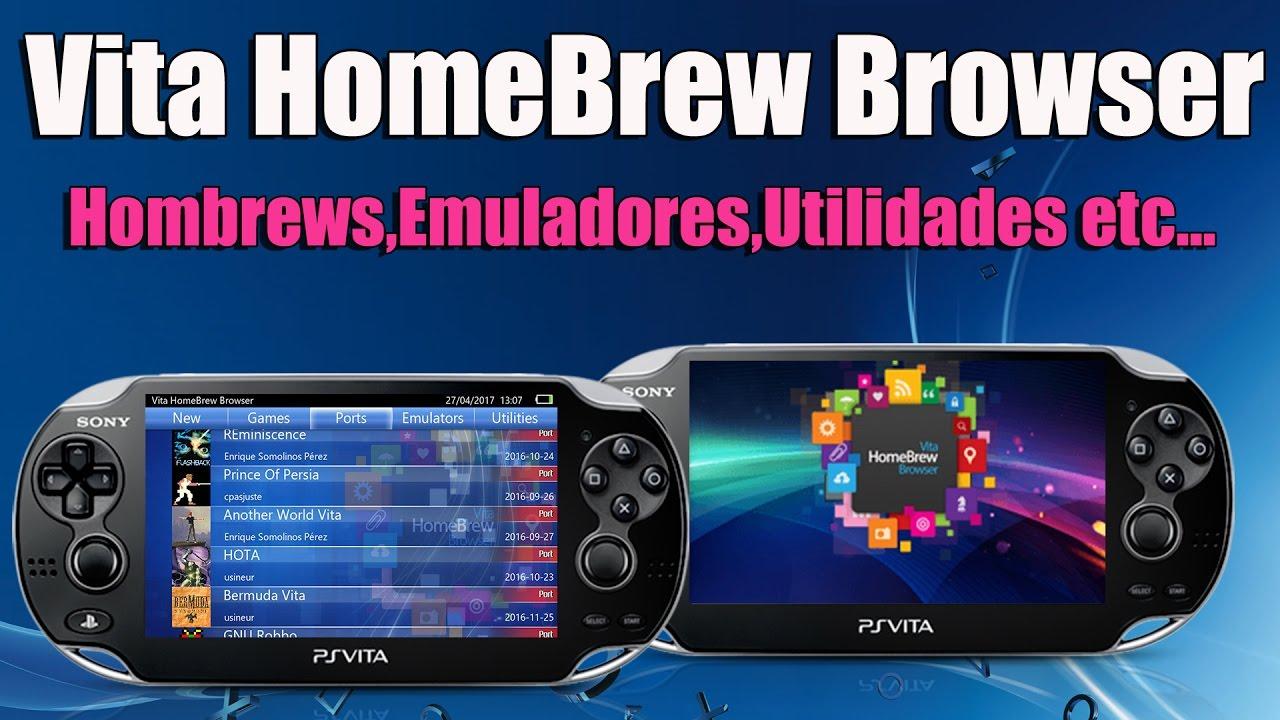 Vita HomeBrew Browser 0 81 PSVITA APP