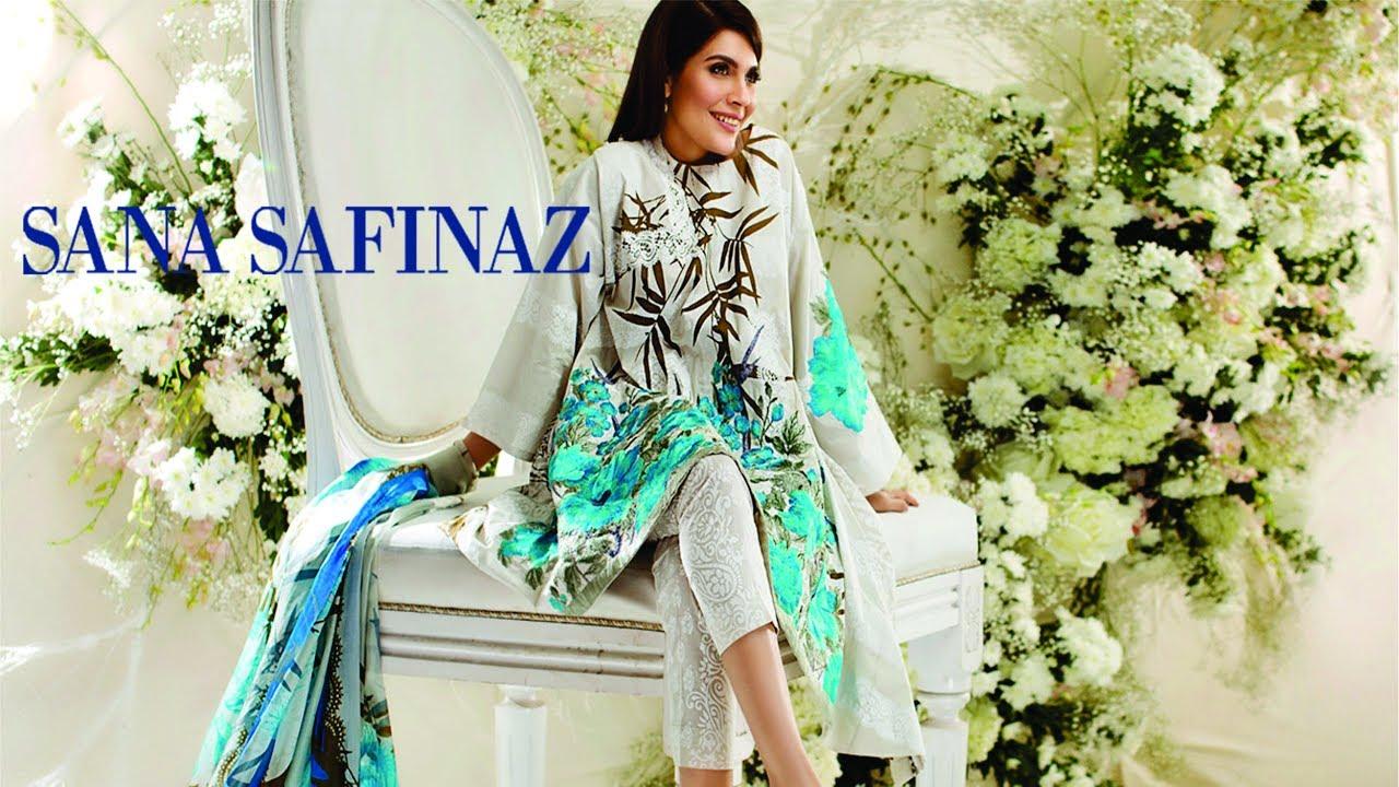c3a0e3e0ac Sana Safinaz Lawn 2017-18 With Price. Women Dresses