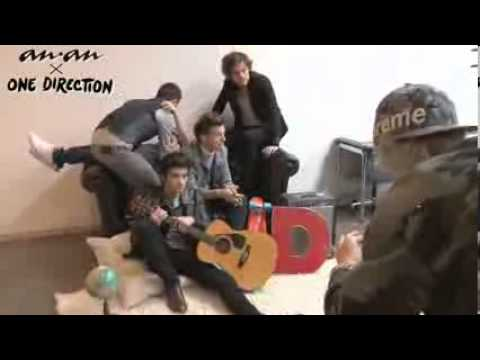ONE DIRECTION - Photo Shoot for 'ANAN'
