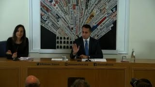 DdL Pillon, Di Maio: così non va, lo dobbiamo correggere
