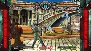 Guilty Gear Accent Core Plus - Final Round 16 - Grand Finals - Abegen vs. Marlin Pie