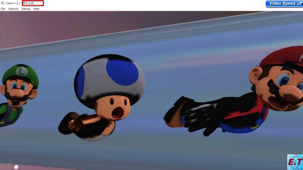 [Wii-U Emulator] CEMU 1 3 1 Super Mario 3D World Wii U