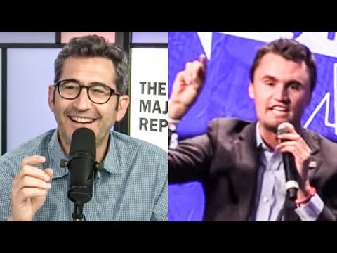 Sam Seder&39;s  Review Of His Charlie Kirk Smackdown At Politicon