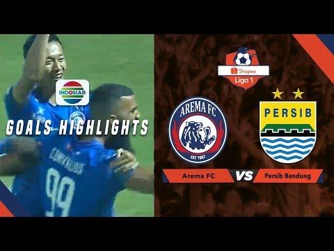 Arema Malang (5) vs (1) Persib Bandung - Goal Highlights | Shopee Liga 1