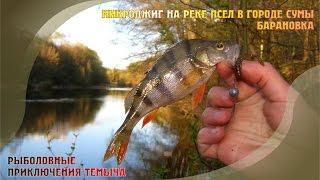 Квітневий микроджиг на річці Псел у місті Суми на Баранівці