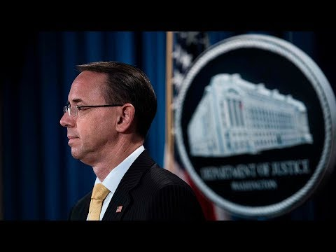 Watch Live: Deputy AG testifies at House hearing on Russia investigation
