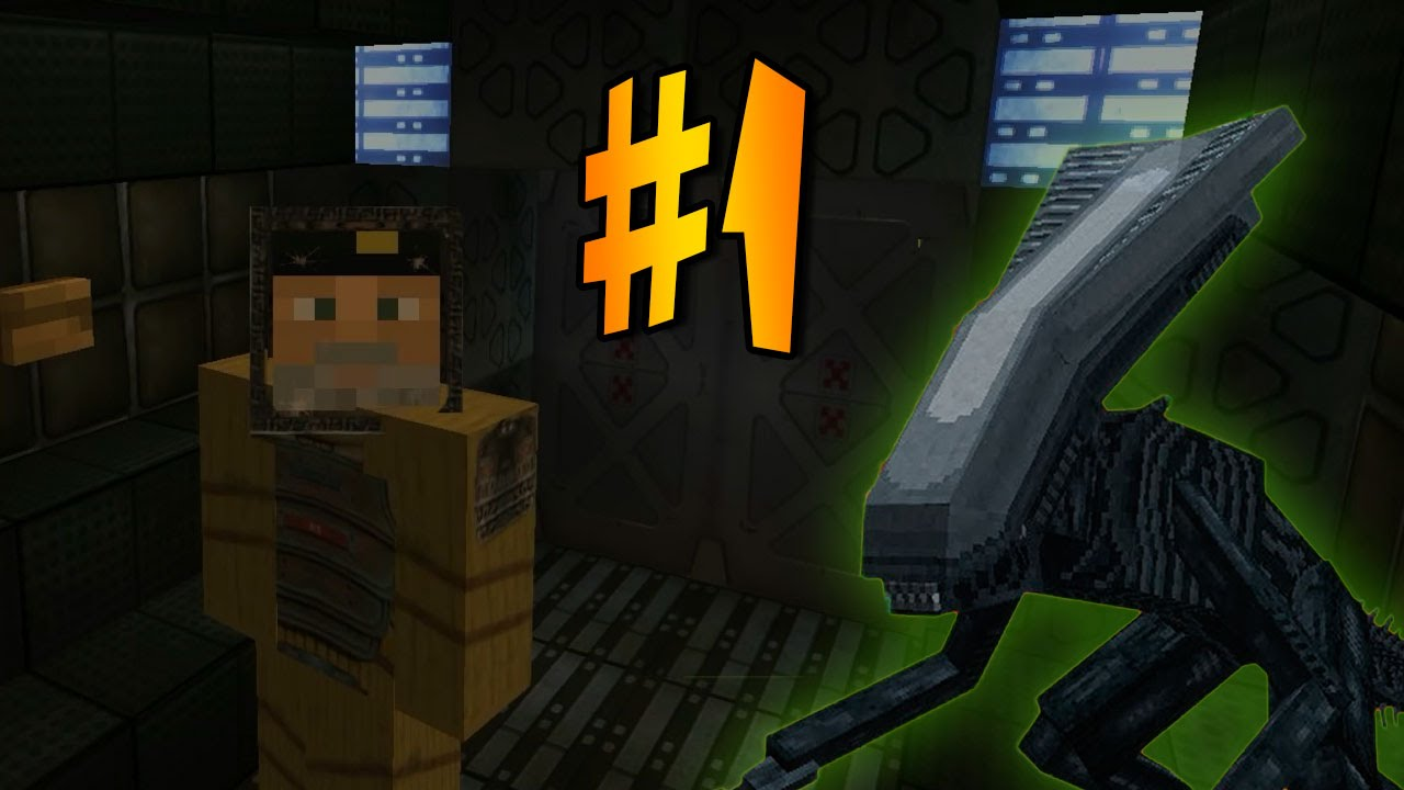 Alien Isolation En Minecraft Episodio 1 Mapa De