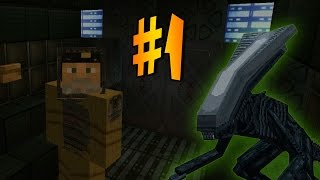 ALIEN ISOLATION EN MINECRAFT - Episodio 1 - Mapa de Aventuras