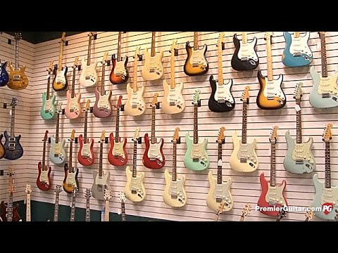 Dave's Guitar Shop Tour