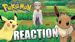 REACTION auf neuen POKÉMON LET'S GO Trailer!