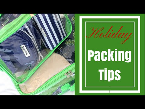 TRAVEL TIPS:  HOLIDAY PACKING & Give-A-Way
