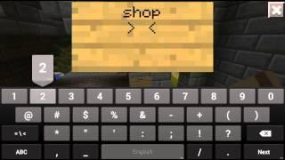 Как сделать магазин на сервере Minecraft PE 0.10.0