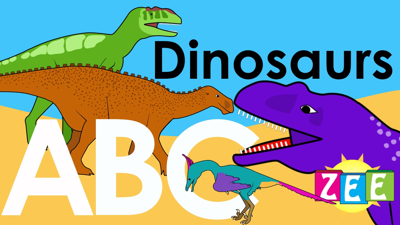 Dinosaur Alphabet Zee Abc Of Dinosaurs Learn About
