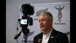 Steve Tew on the Harlequins and New Zealand rugby partnership