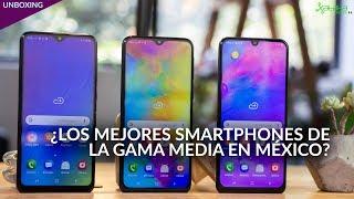 Galaxy M10, M20 y M30, UNBOXING en México: la mejor relación precio/especificaciones de SAMSUNG Video
