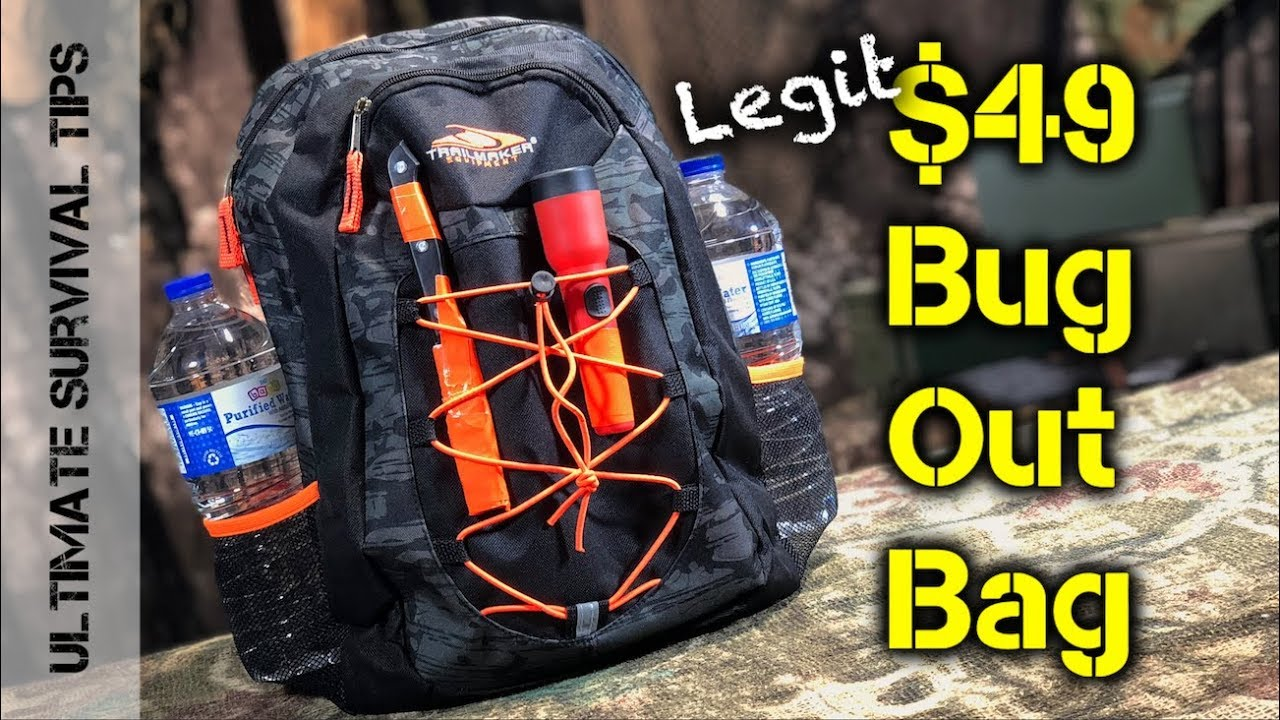 Diy 49 Bug Out Bag Emergency Kit You Can Make Gear