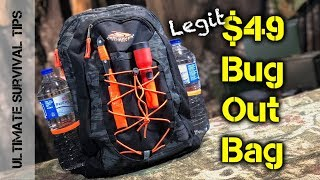 DIY $49 Bug Out Bag (Dollar Store) Emergency Kit - You Can Afford!