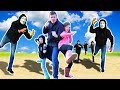 PROJECT ZORGO Real Life NINJA BATTLE ROYALE & Searching for Abandoned Mysterious Clues with Drone!